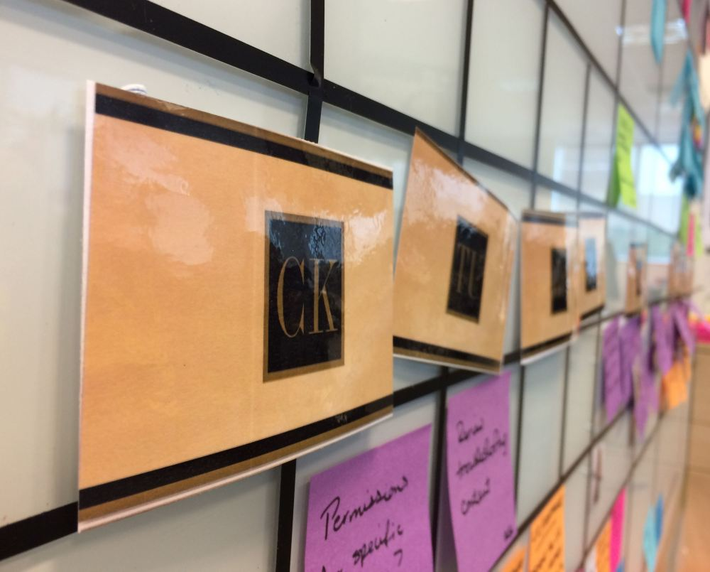 Gold Cards on our taskboard