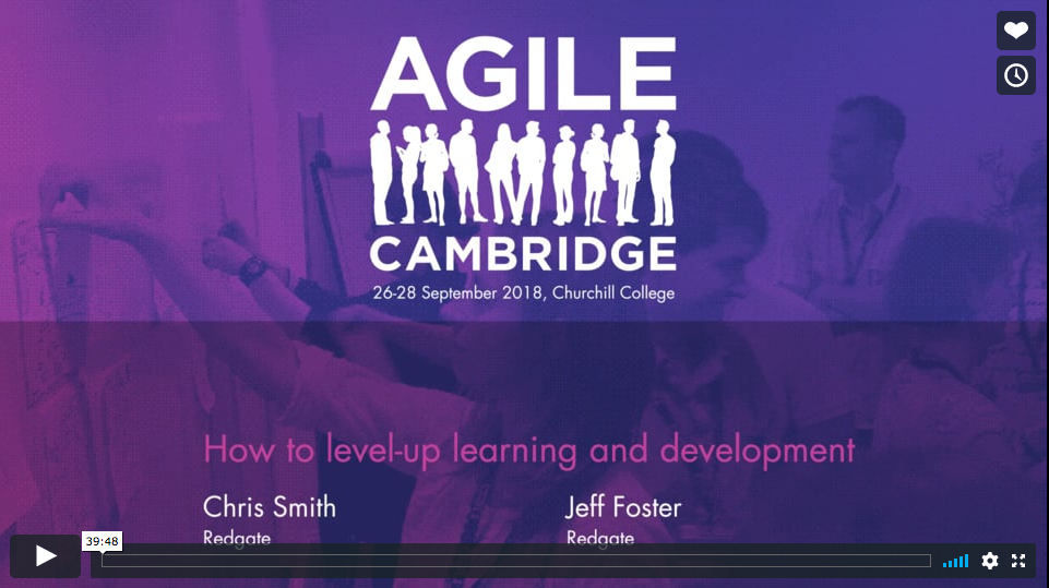How to level-up learning and development